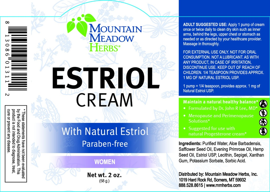Estriol Cream (Estrogen Cream)